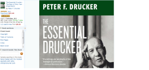 Drucker Management