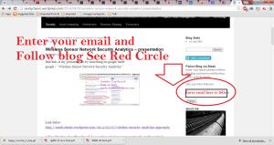 procedure to Follow Blog