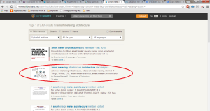 Top Search on SlideShare.com Advanced meter architecture analytics