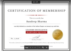 Harvard Square Leadership Excellence